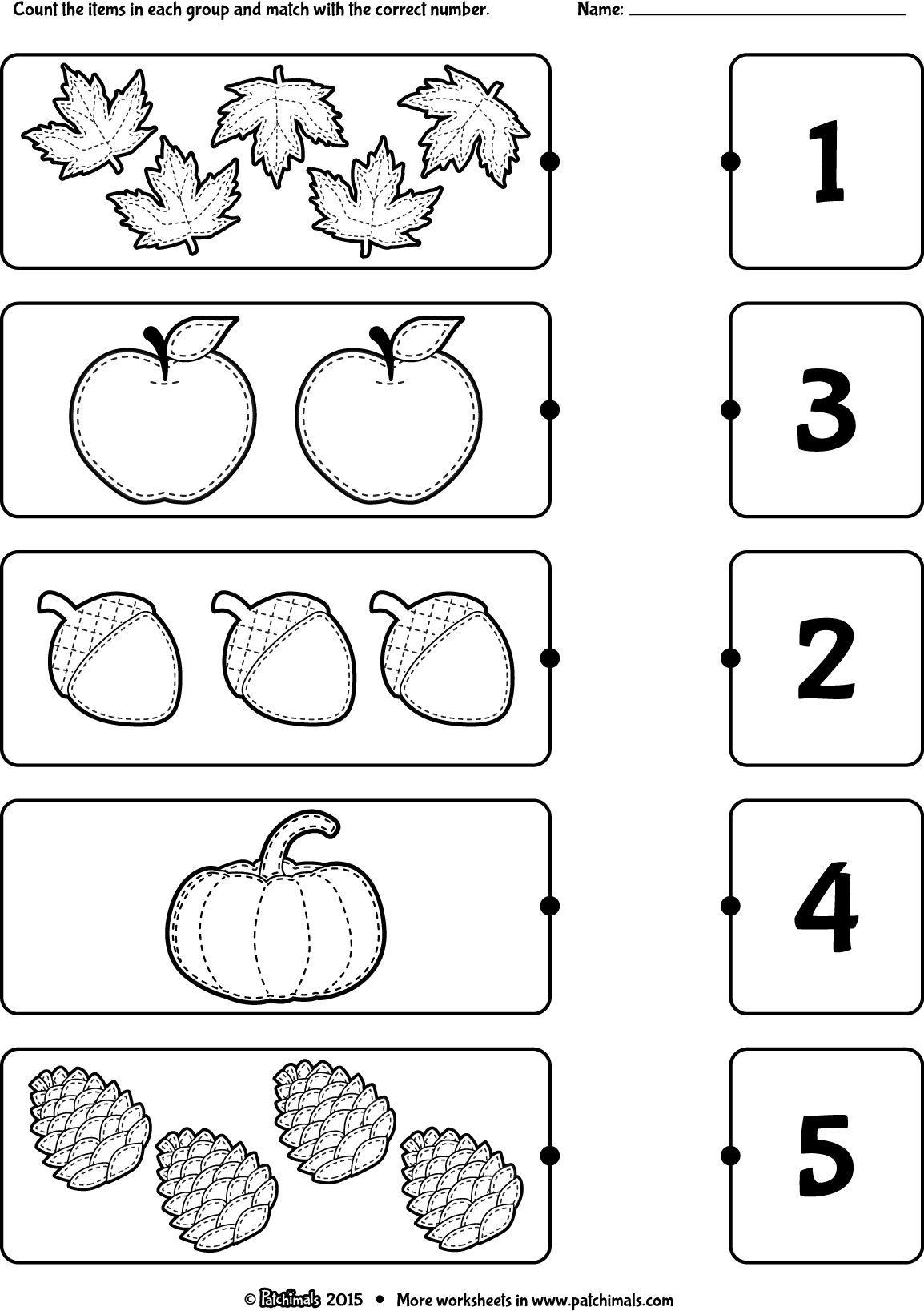 count_and_match_autumn_eng.png (1154u00d71637) : worksheets ...