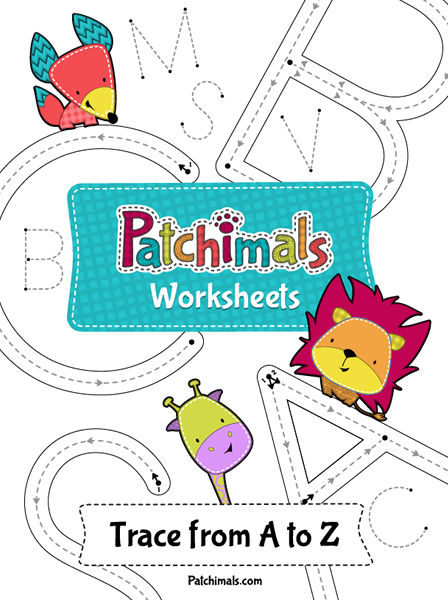 ABC Tracing Worksheets – Uppercase