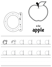Handwriting Worksheets | Proper Letter Formation