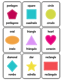 picture relating to Spanish English Flashcards Printable identify Patchimals - Informative and cultural contents for youngsters