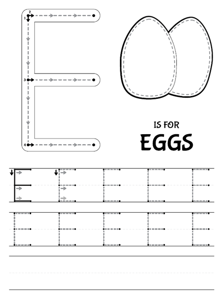 Number Names Worksheets trace abc letters : Patchimals - Educational and cultural contents for children: apps ...
